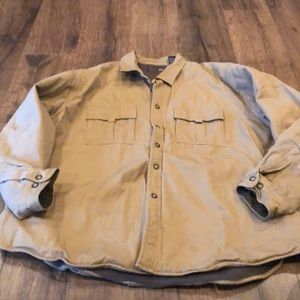 Jacket button up lined